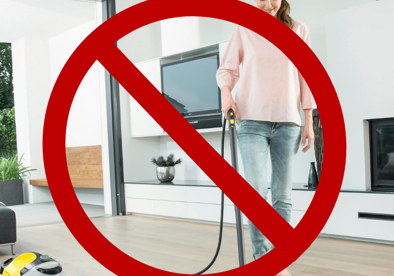 Steam Cleaners... Stop Using Them On Your Wood Floors!